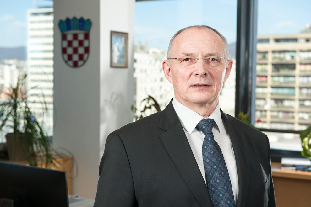 Stjepan Adanić, član Uprave